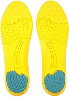 EODNSOFN Semelles de sport en mousse à mémoire de forme coussinets d'absorption de la sueur inserts de chaussures de sport...