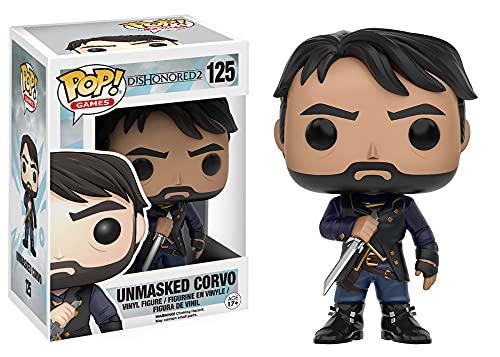 Corvo Unmasked Figurine Funko Pop Dishonored 2