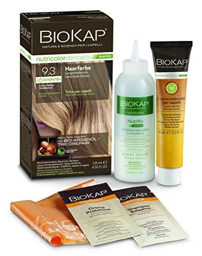 BIOKAP 10 min. Haarfarbe 9.3 Extra helles Goldblond, 135 ml