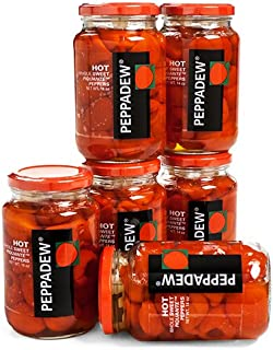 Peppadew Peppers - Hot - Value Bundle of 6 (84 ounce)