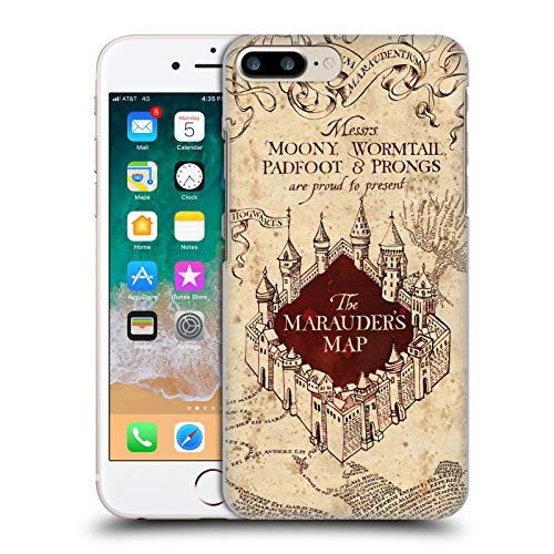 Head Case Designs Licenza Ufficiale Harry Potter The Marauder's Map Prisoner of Azkaban II Cover Dura per Parte Posteriore Compatibile con Apple iPhone 7 Plus/iPhone 8 Plus