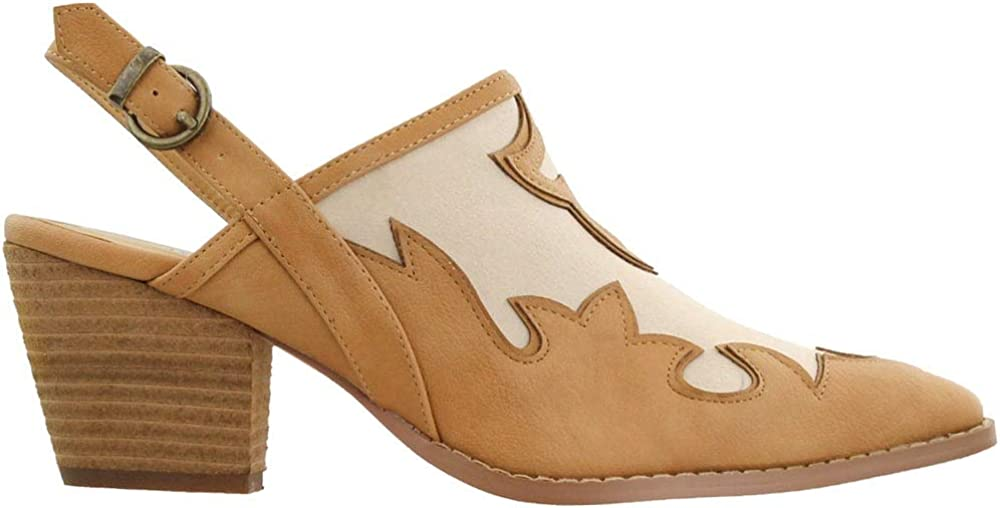 Coconuts by Matisse Womens Road Inlay Shootie - Beige - Size 7.5 B