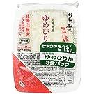 サトウのごはん 北海道産ゆめぴりか 3食パック200g×3