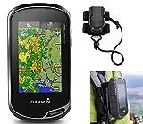 Garmin Oregon 700 Hiking GPS Bundle   with Hiking Backpack Tether Mount   Carabiner Clip & USB Cable   GPS/GLONASS...