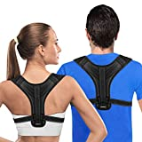 Posture Corrector for Men and Women, Adjustable Clavicle Back Brace Upper Back Brace