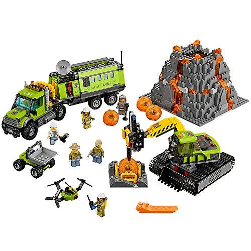 lego city vulcano explorer Lego City 60124 Base Vulcanica New 05 2016