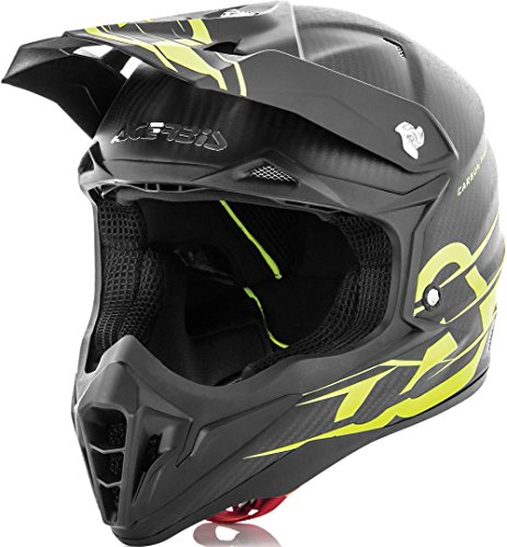 Casco Off-road Acerbis Impact Carbon 3.0 nero/giallo