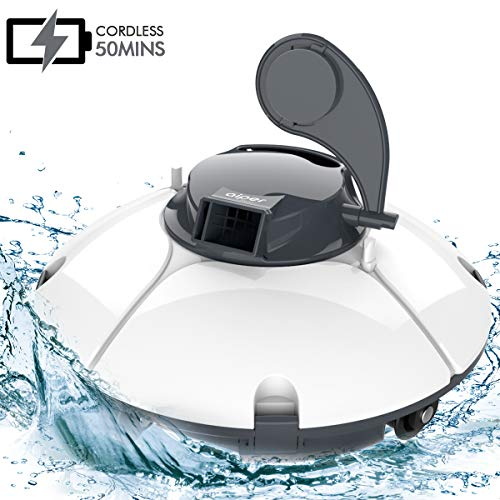 Save %45 Now! AIPER Cordless Automatic Pool Cleaner, Rechargeable Robotic Pool Cleaner with 50 Mins ...