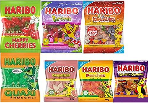 HARIBO ハリボーグミ 人気食べ比べ7袋セット【B】( 2021発売)