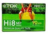 TDK P5-90HMPPEQ Cinta de Sonido y vídeo - Cinta de Audio/Video (90 min)