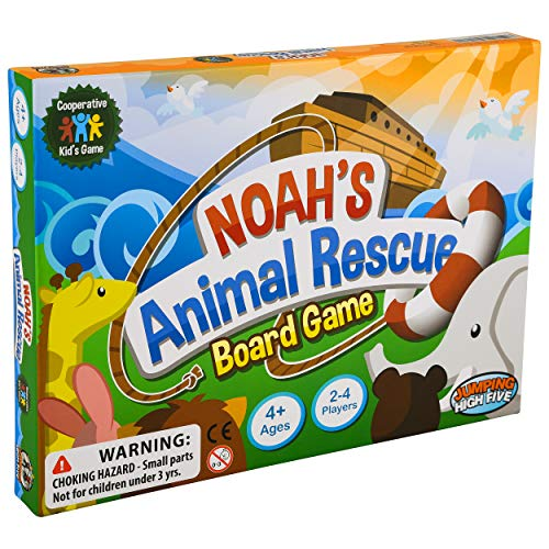 Noah's Animal Rescue! #1 Cooperative Game for Kids – Noah's Ark Learning Board Game for Children...