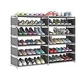 W-SHTAO L-WSWS - Zapatero para pasillo y muebles, zapatero a prueba de polvo, tela simple para la puerta, armario de almacenamiento para organizar zapatos