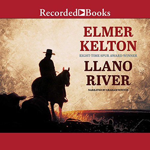 Llano River audiobook cover art