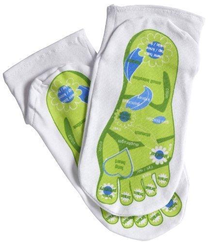 Reflexology Socks by Spa Sister (English Manual)