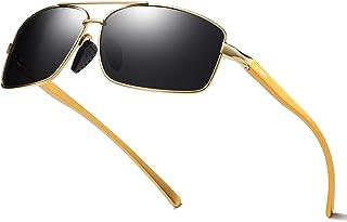 2bf982315d5 ELITERA Lightweight Square Polarized Sunglasses For Men UV400 protection  E2458