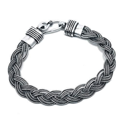 925 Sterling Silber Schmuck Designer Armband Handgemachter Schmuck Herren-Armband Frauen-Armband Vintage-Schmuck Minimal Schmuck Minimal-Armband (CD1100)