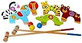 Tooky Toys TKC488 Dschungel-Kroquett-Set