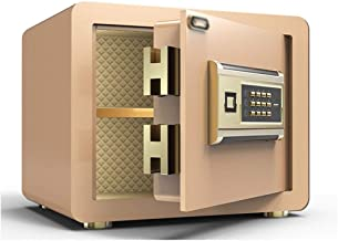JBAMQ Fireproof Safe and Waterproof Safe with Digital Keypad Cubic Feet,5MM Thickness Wall Safes (Size : 25 * 25 * 35cm) (...