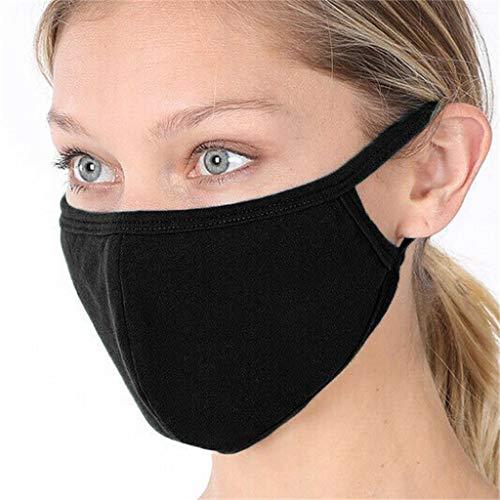 PPangUDing Damen Mundschutz mit Motiv Waschbar Baumwolle Wiederverwendbar Mund und Nasenschutz Halstuch Multifunktionstuch Bandana für Damen Herren