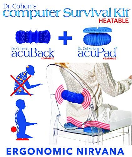 Dr Cohen S Acuproducts Masajeador De Tejido Profundo Para Recuperacion De Lesiones Musculares Color Azul