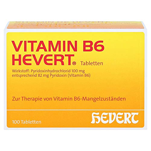 VITAMIN B6 HEVERT Tabletten 100 St