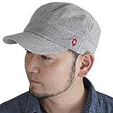 (クレ) clef ワッフル リブ スウェット ワークキャップ 帽子 大きいサイズ メンズ レディース スウェット キャップ XLサイズ グレー