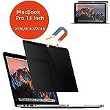 PaceBid Magnétique Filtre de Confidentialité Premium Compatible avec Apple MacBook Pro 13' (2016-2019), Facile à Enlever & Rattacher,Film Protection Notebook Privacy Filtre - Magnétique Réutilisable