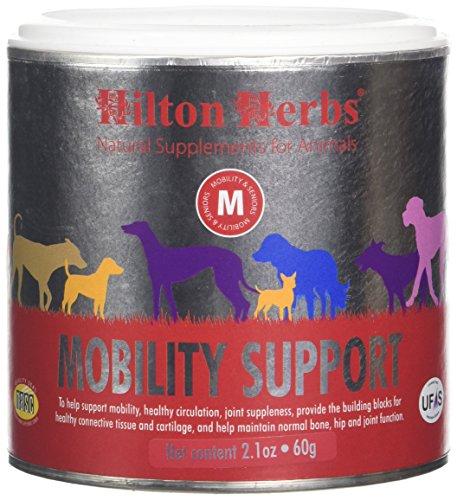 Hilton Herbs Mobility Support Complément Alimentaire pour Chien Boîte de 60 g
