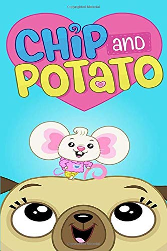 Chip and Potato: Notebook Journal Composition Blank Lined Diary 100 Pages-6 x 9