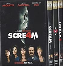 Scream Dvd Set 1-4 All 4 Movies Collection!