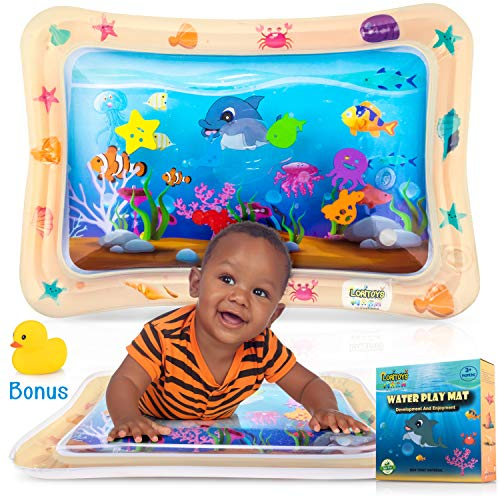 Fantastic Deal! Inflatable Water Play Mat for Tummy Time, Baby water mat Infants & Toddlers, Toys fo...