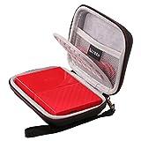 LTGEM EVA Hard Case Shockproof Carrying Bag for WD 1TB 2TB 3TB 4TB USB 3.0 My Passport Portable External Hard Drive