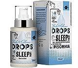 Duerme apretado cuerpo y gotas de ducha