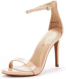 DREAM PAIRS Women's Karrie High Stiletto Pump Heel Sandals