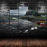 60Tdfc Leinwanddrucke Leinwand Hd Print Poster Nürburgring