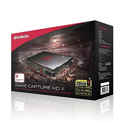 AverMedia C285, Game Capture HD 2 - Boîtier d'acquisition Video Haute Définition 1080p - Compatible Consoles, enregistrer vos gameplay - Enregistre, modifie sans PC