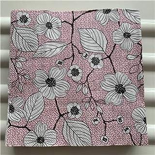 HXQCZ Decoupage wedding birthday party Napkin paper elegant tissue pink blue flower vintage beautiful serviettes home squa...