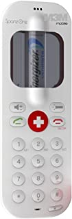 SpareOne GSM Emergency Mobile Cellular Phone, 850/1900 MHz