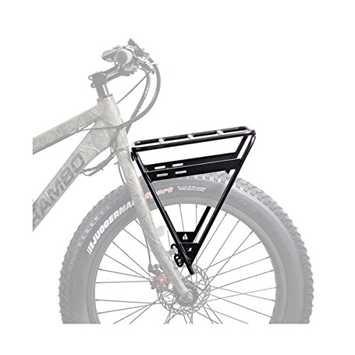Rambo R151 Front Luggage Rack, Black, One Size