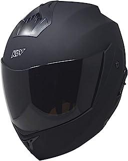 Casco para moto Kov Stealth Negro Matte Abatible Todas las