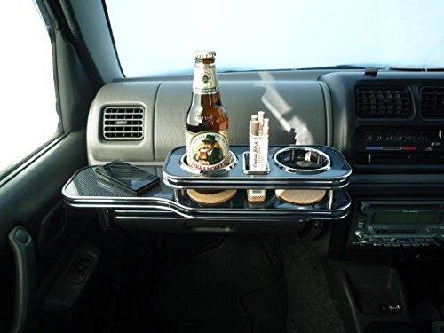 数量限定 JB23ジムニー前期 フロントテーブル ブラックカーボン 携帯ホルダー携帯中 ブラックフルメッキ