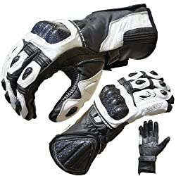 PROANTI motorcycle gloves Pro Racing motorcycle leather gloves sizes: M-XL