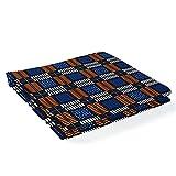 Ratti - Premium Wax blau und orange, Stoff 100% Made In