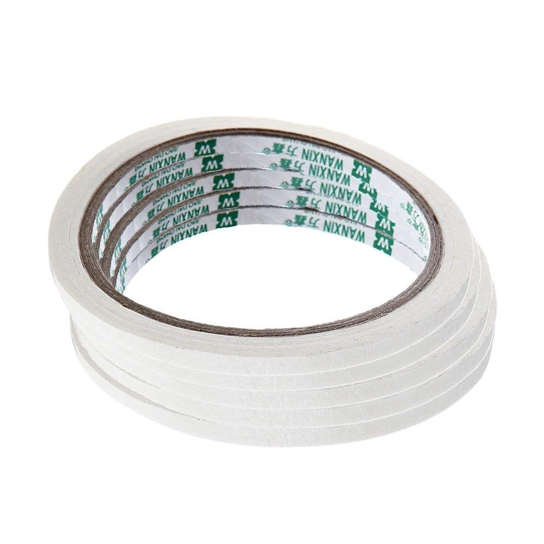 クリエイティブ ネイルテープステッカー フレンチ マニキュアネイルアート ヒント マスキングテープ パターン ネイルツール ネイルアート アクセサリー 5ピース
