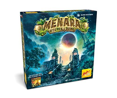 Zoch 601105153 Menara - Rituals & Ruins - Menara Erweiterung zum Grundspiel, kooperatives Spiel für 1 bis 4 weitsichtige Baumeister
