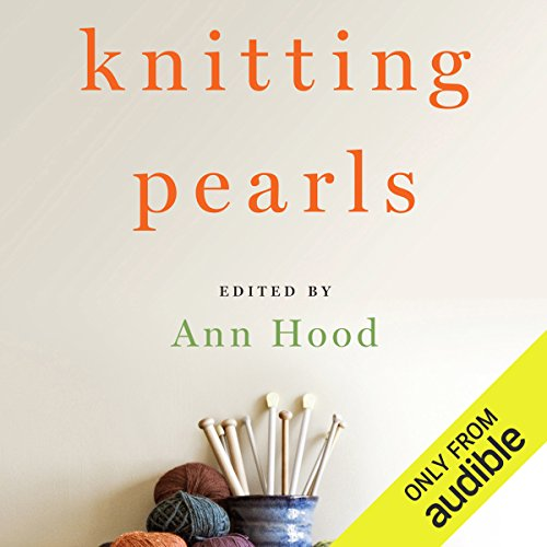 Knitting Pearls audiobook cover art
