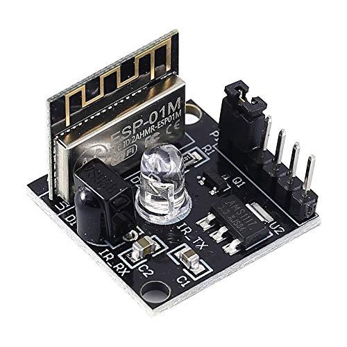 ZJF Componentes de la computadora Accesorios eléctrico 5pcs ESP8285 Inalámbrica WiFi Módulo...