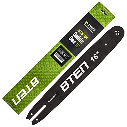 8TEN Chainsaw Guide Bar and Chain for Stihl 210 211 3636 005 0055 63PM3 91VXL055G 160SDEA074 16 inch .050 .375 55DL