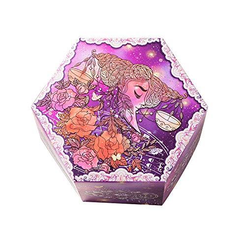 JIESD-Z - Caja de regalo de explosión fluorescente con 12 constelaciones para manualidades, álbumes de fotos, sorpresas, álbumes de recortes, regalo para cumpleaños, día de San Valentín, compromiso, aniversario de boda, Libra, 7