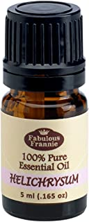 Helichrysum 100% Pure, Undiluted Essential Oil Therapeutic Grade - 10ml- Great For Aromatherapy!